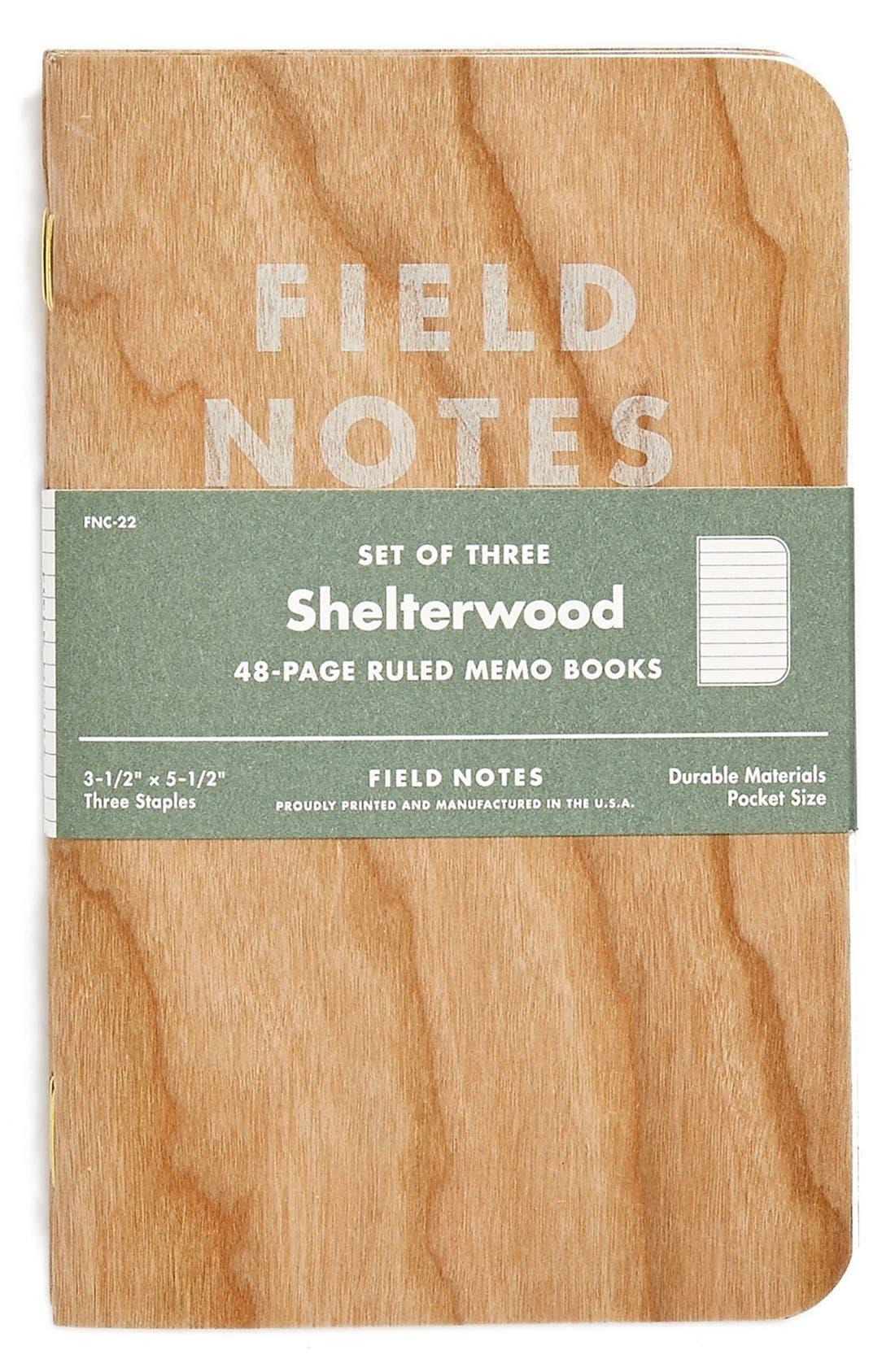 Alternate Image 2  - Field Notes 'Shelterwood' Memo Books (3-Pack)