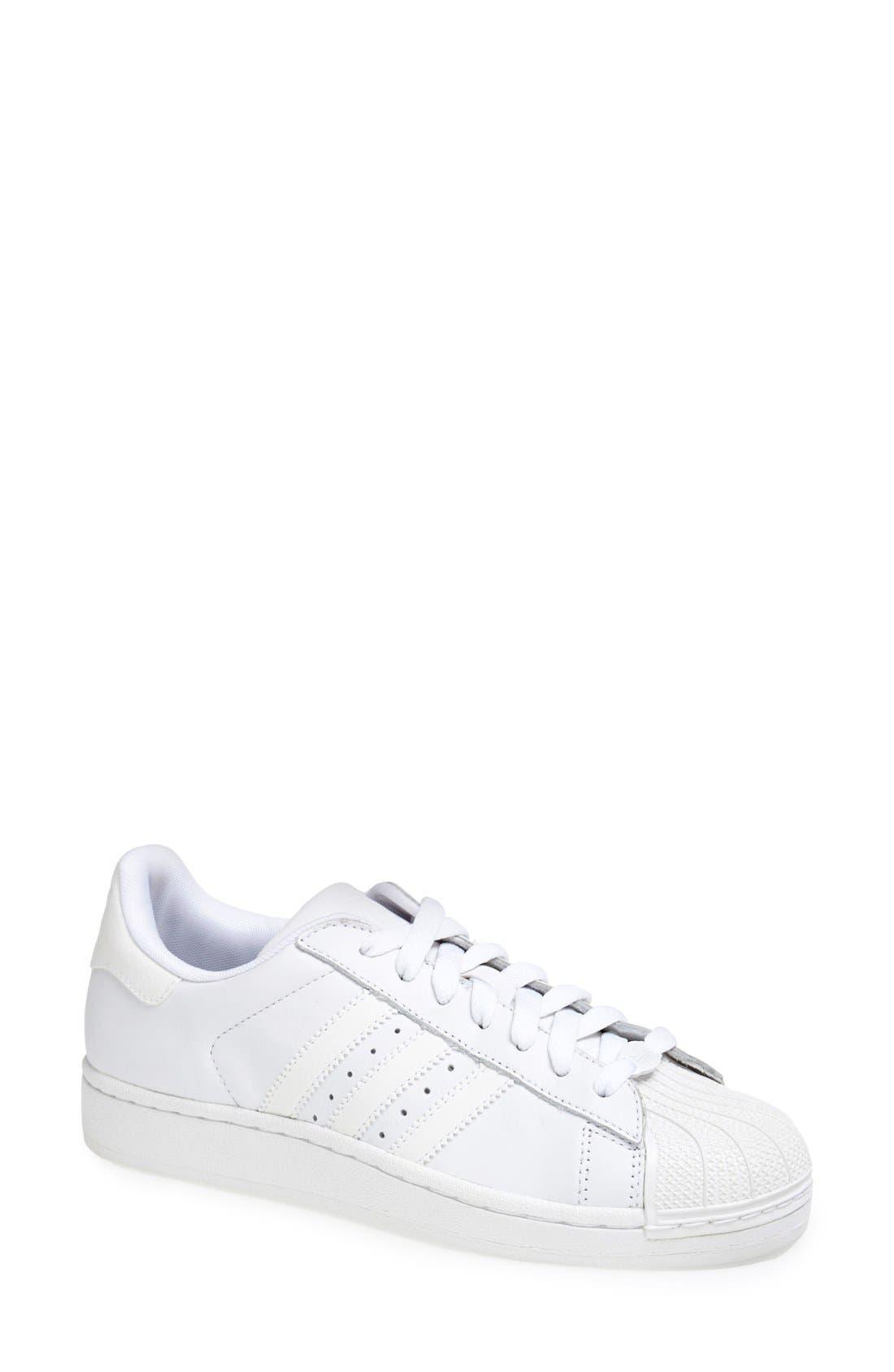 Alternate Image 1 Selected - adidas 'Superstar II' Sneaker (Women)