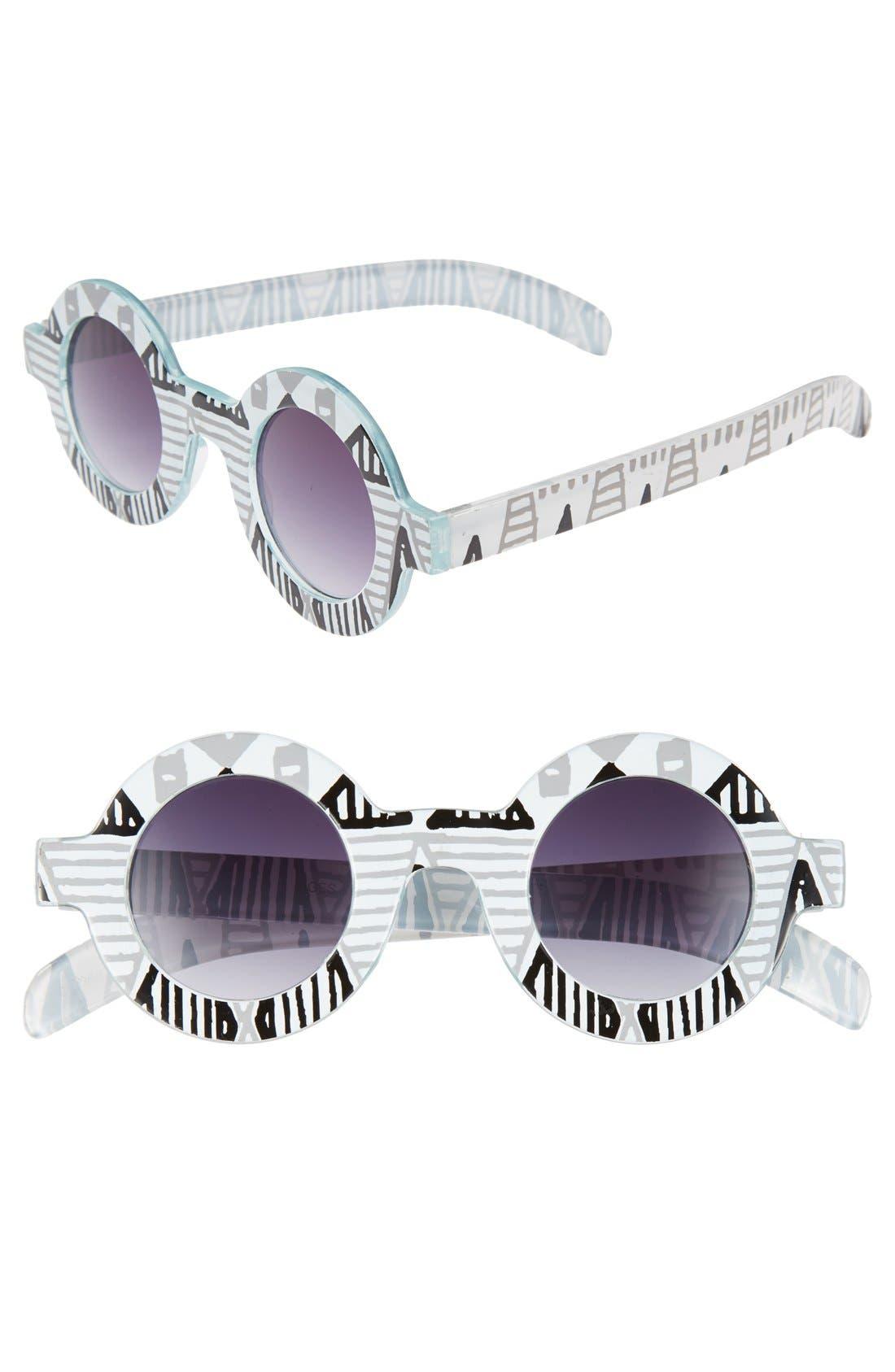 Alternate Image 1 Selected - FE NY 39mm Round Sunglasses