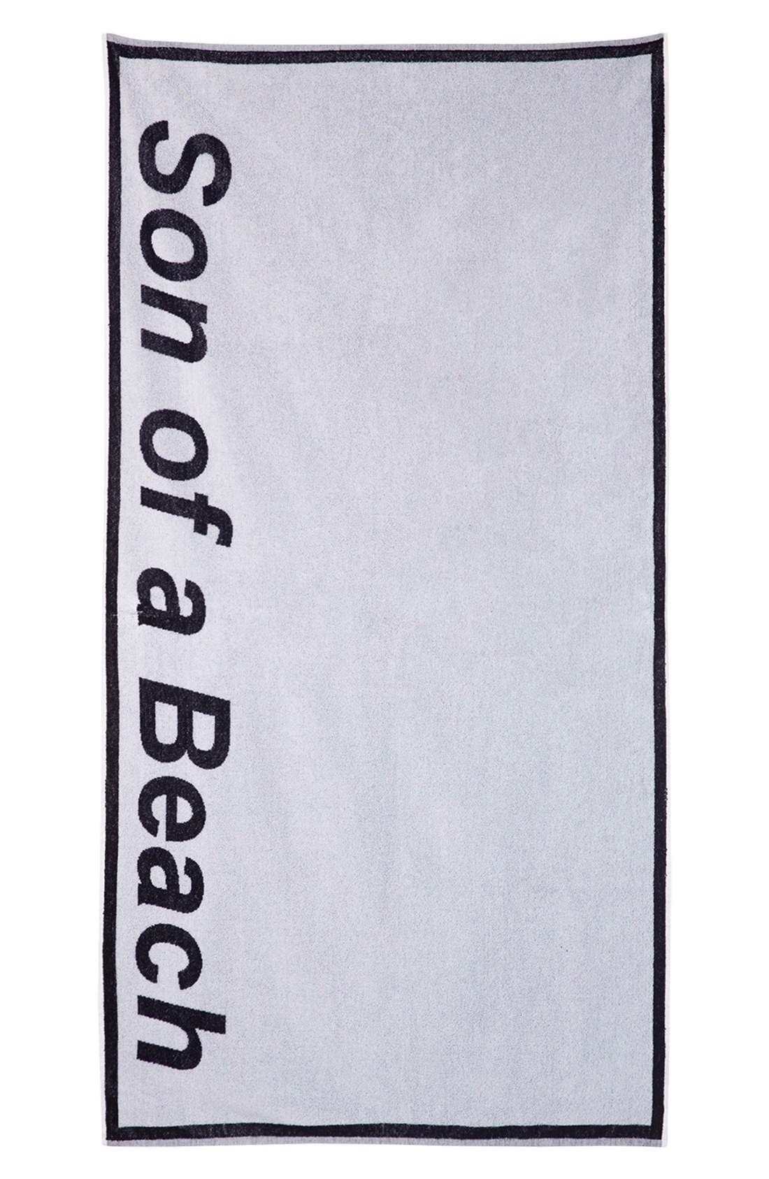 Alternate Image 2  - Ashish x Topshop 'Son of a Beach' Towel