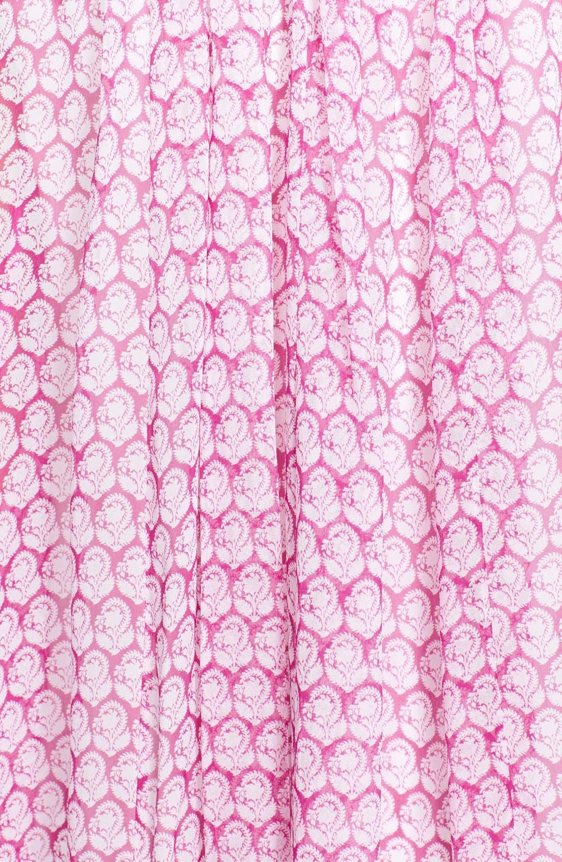 Alternate Image 3  - Diane von Furstenberg 'Fleurette' Stretch Silk Tunic Dress