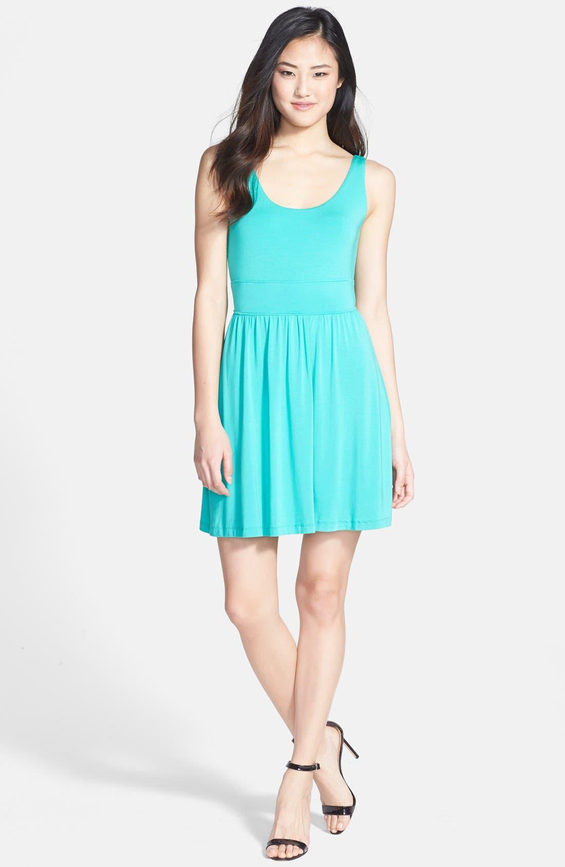 Alternate Image 1 Selected - Tart 'Elsie' Jersey Fit & Flare Dress