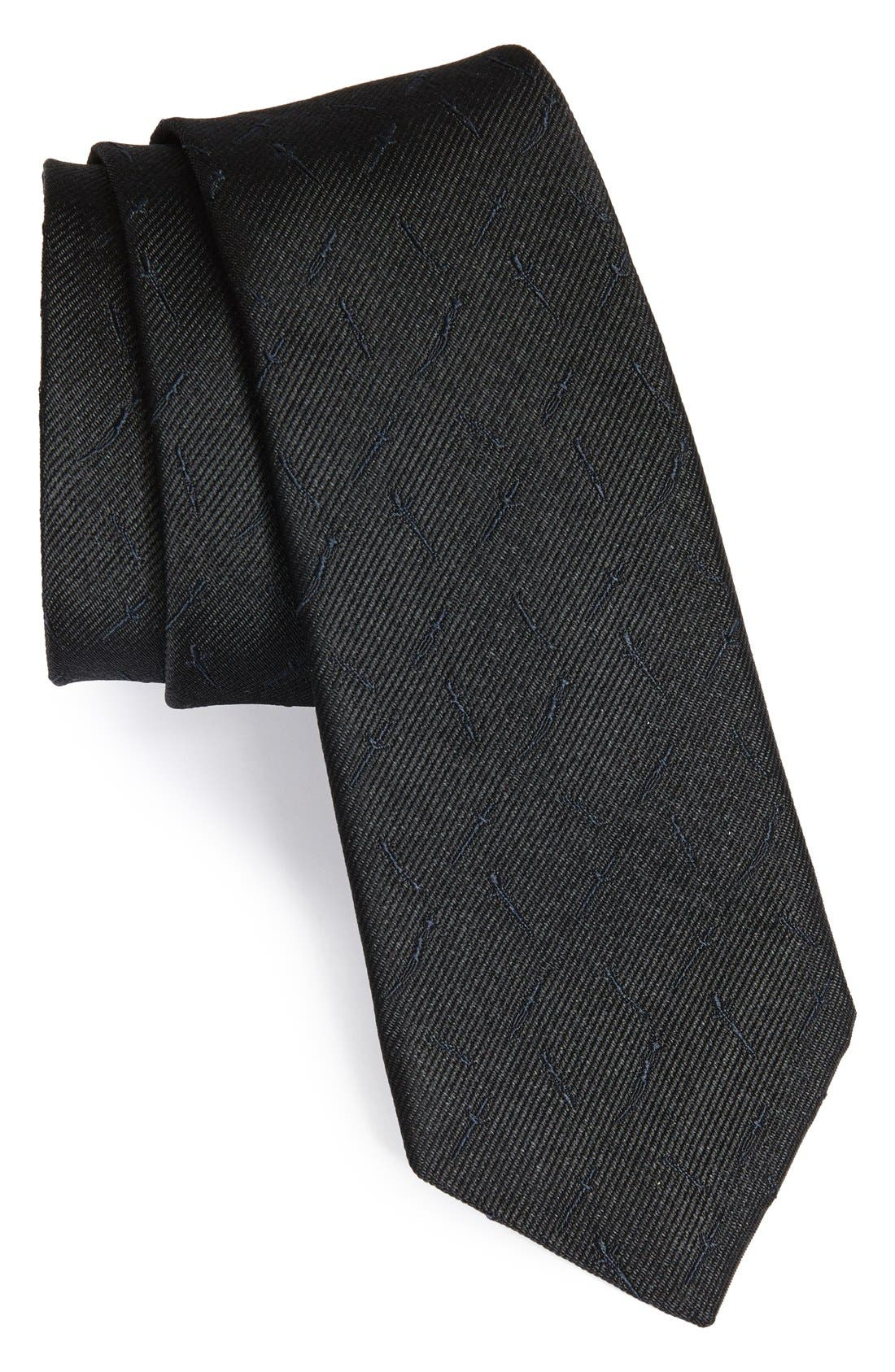 Main Image - rag & bone 'All Over Dagger' Woven Silk Tie