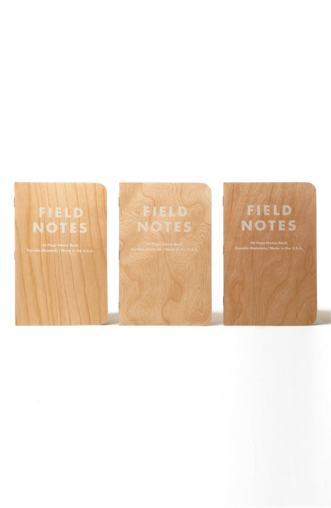 Main Image - Field Notes 'Shelterwood' Memo Books (3-Pack)