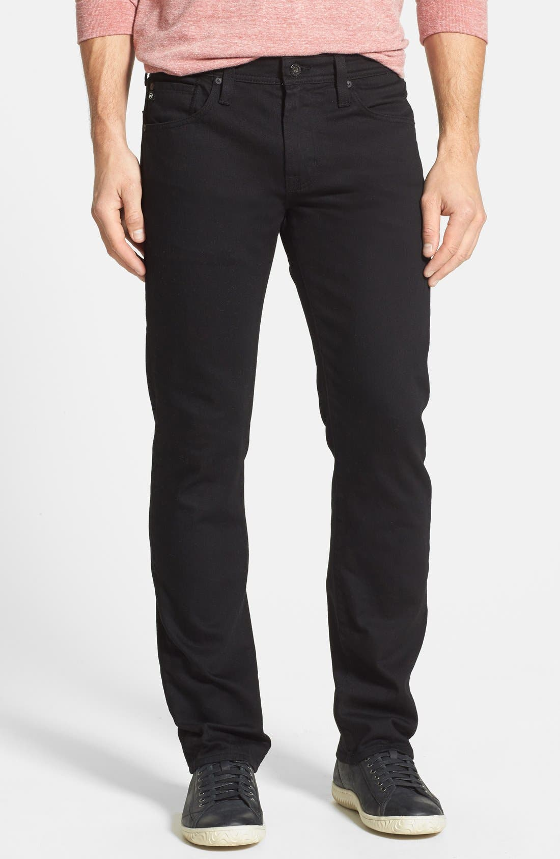 Alternate Image 1 Selected - AG 'Matchbox' Slim Fit Jeans (Blackheart)
