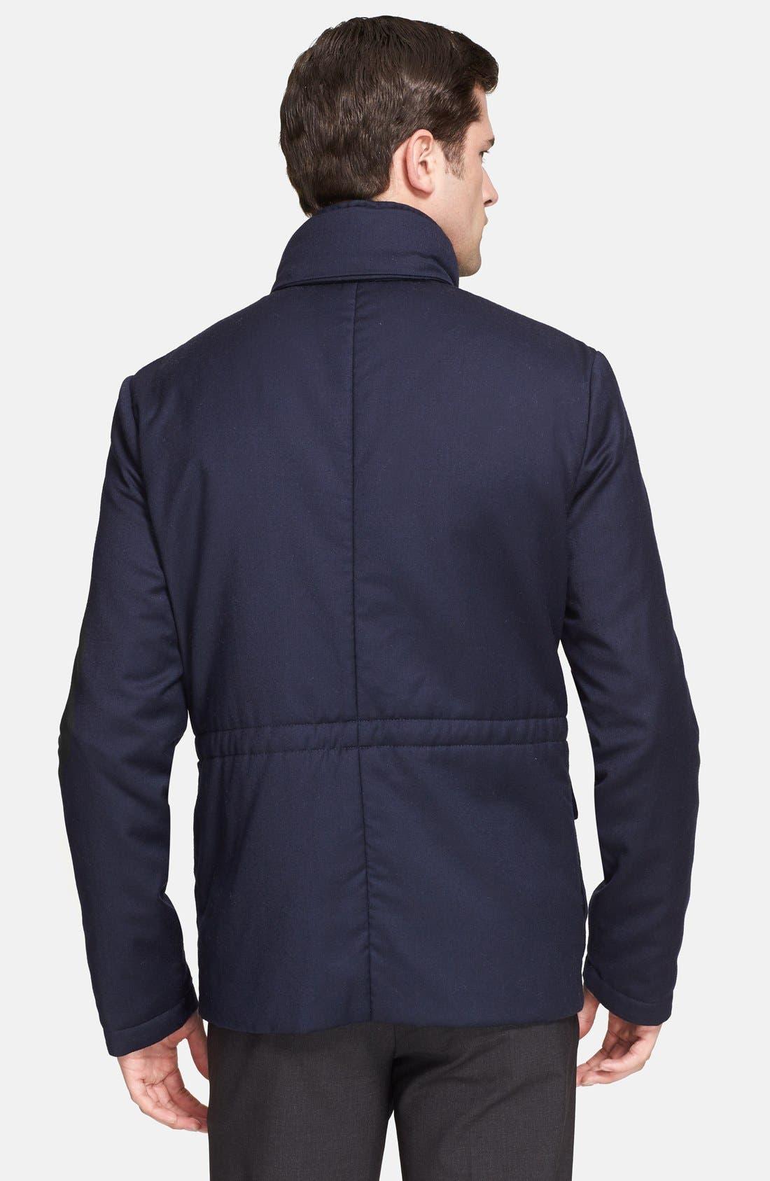 Alternate Image 2  - Armani Collezioni Quilt Lined Field Jacket