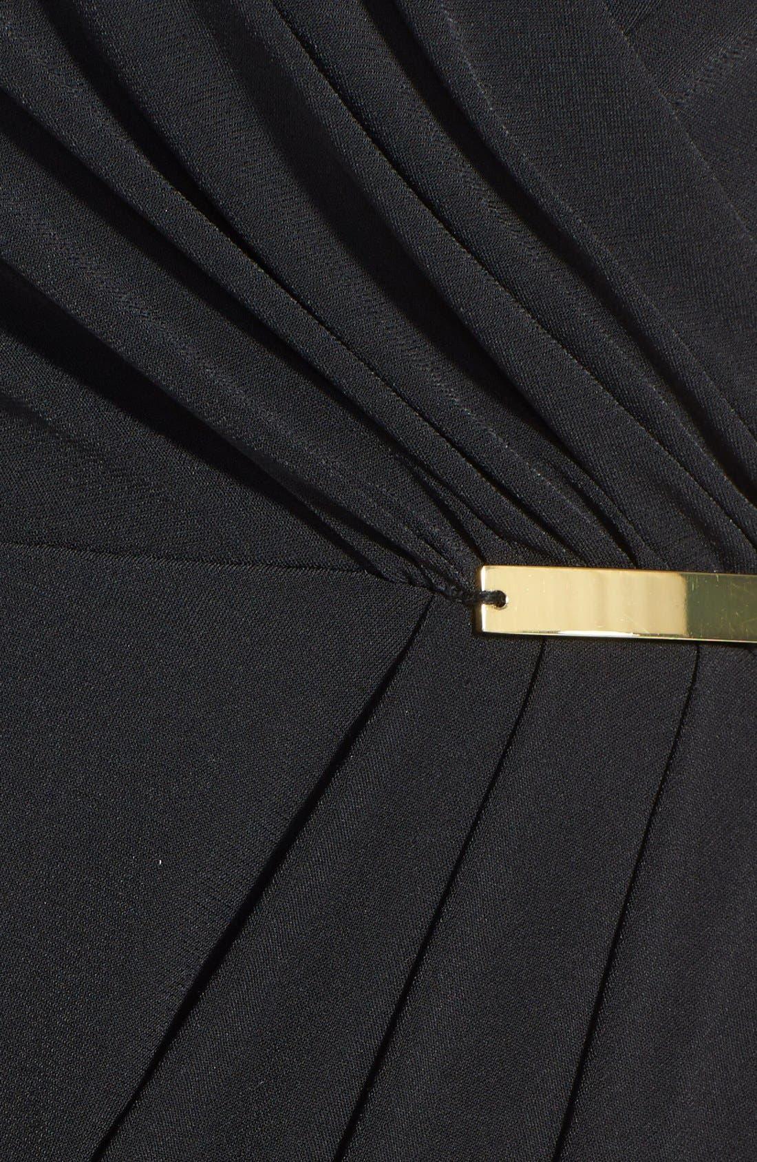 Alternate Image 4  - Ivy & Blu Side Gather Jersey Dress