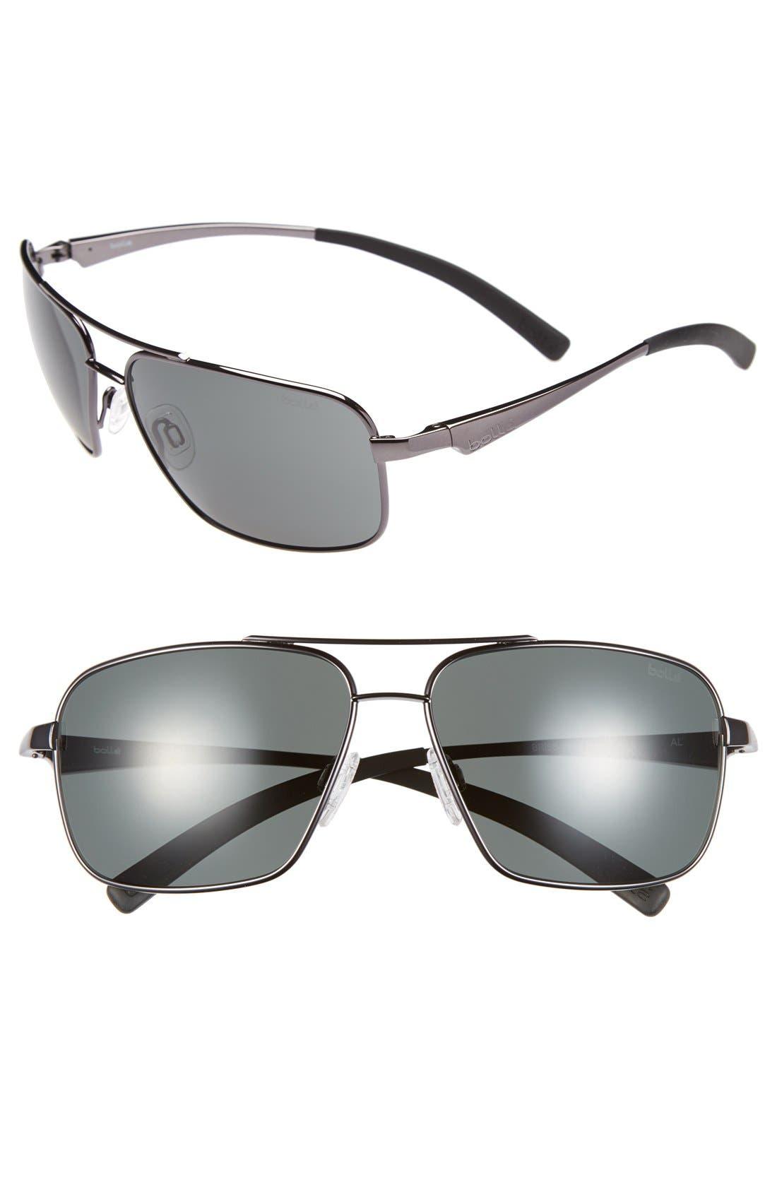 Main Image - Bolle 'Brisbane' 60mm Aviator Sunglasses