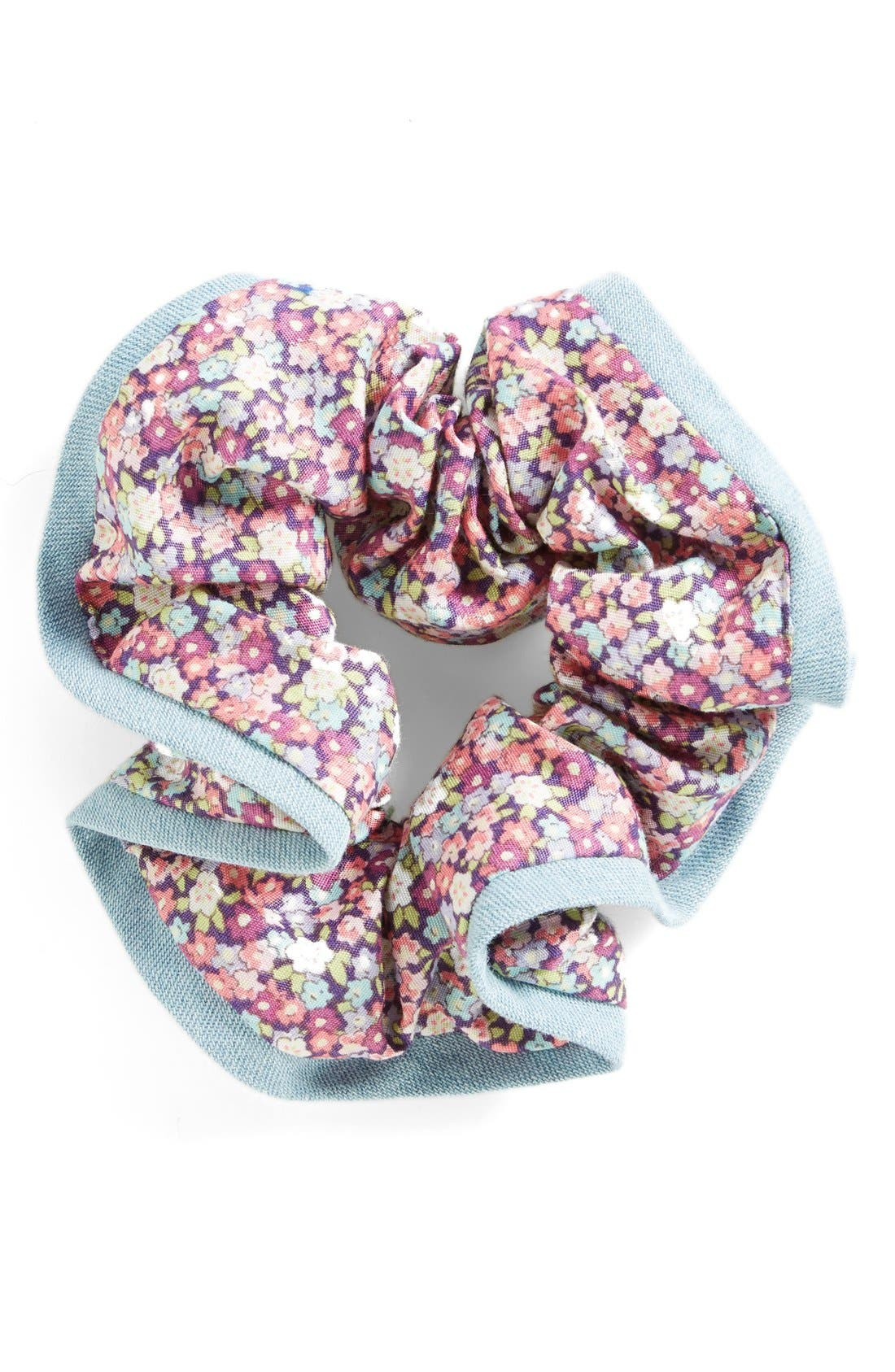 L. Erickson Ribbon Edge Silk Scrunchie