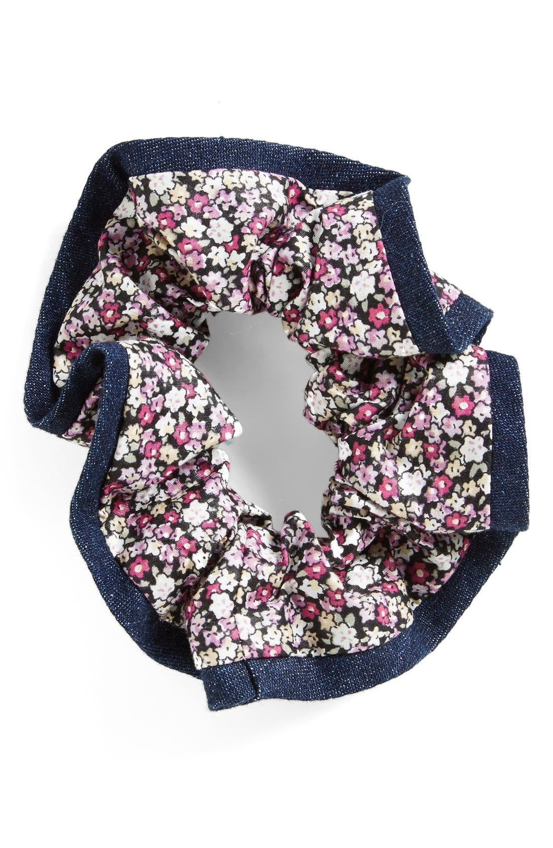 L. ERICKSON Ribbon Edge Silk Scrunchie