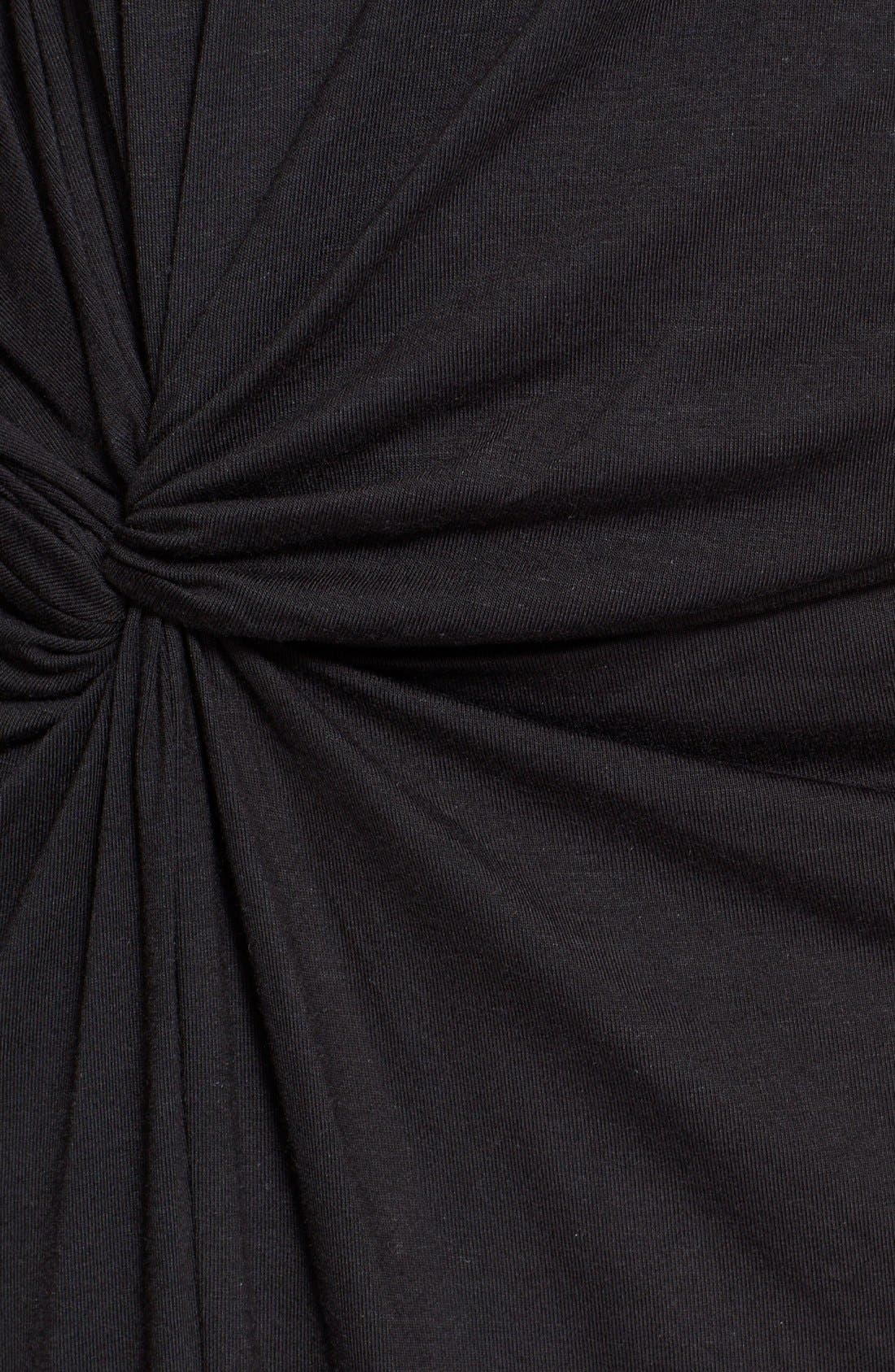 Alternate Image 3  - Elizabeth and James 'Marine' Side Knot Midi Jersey Dress