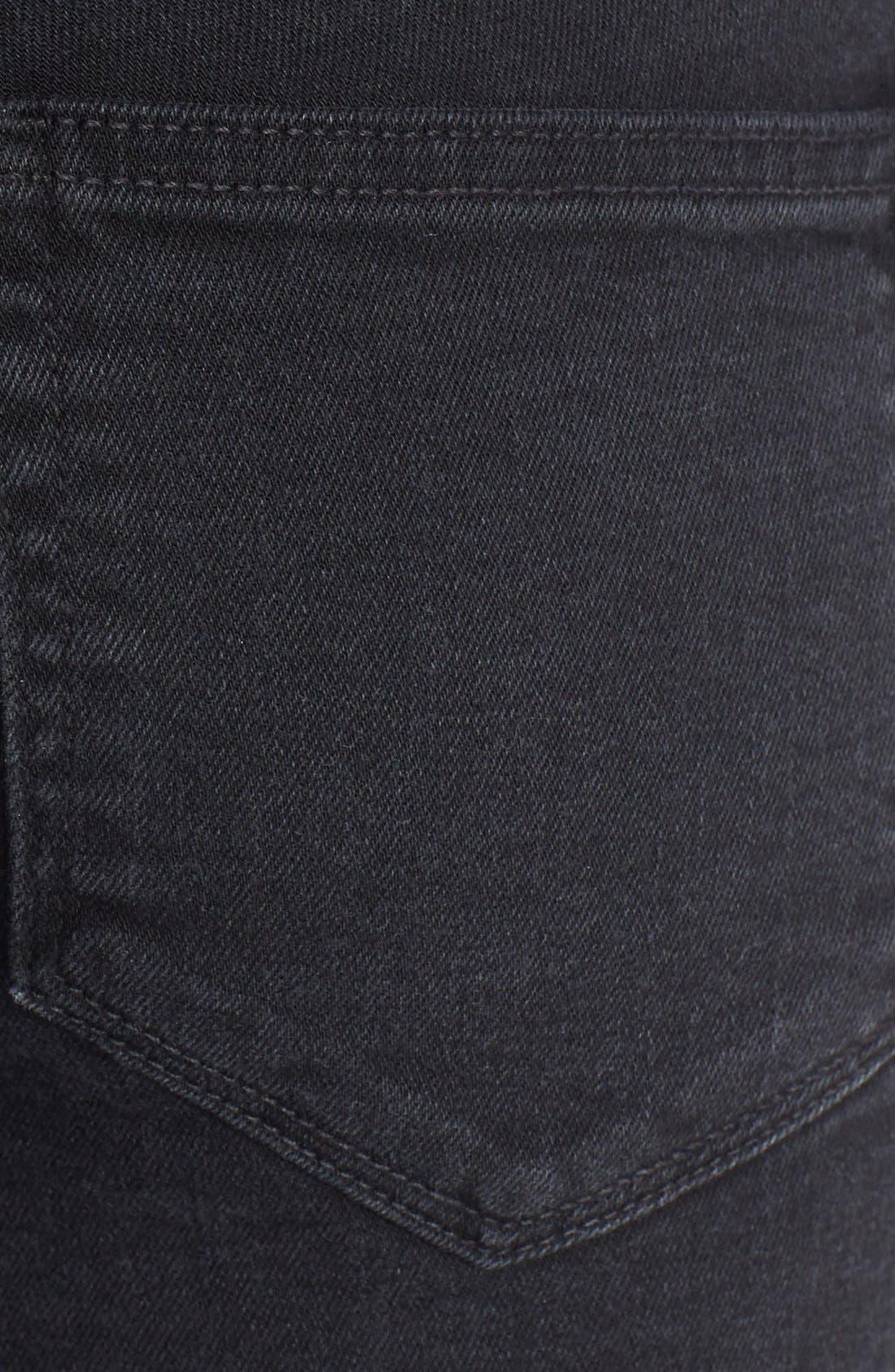 Alternate Image 3  - Paige Denim 'Indio' Zip Detail Skinny Jeans (Ramone Destructed)