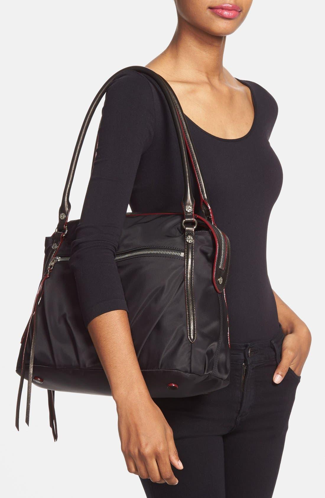 Alternate Image 2  - MZ Wallace 'Moto Georgie' Bedford Nylon Shoulder Bag