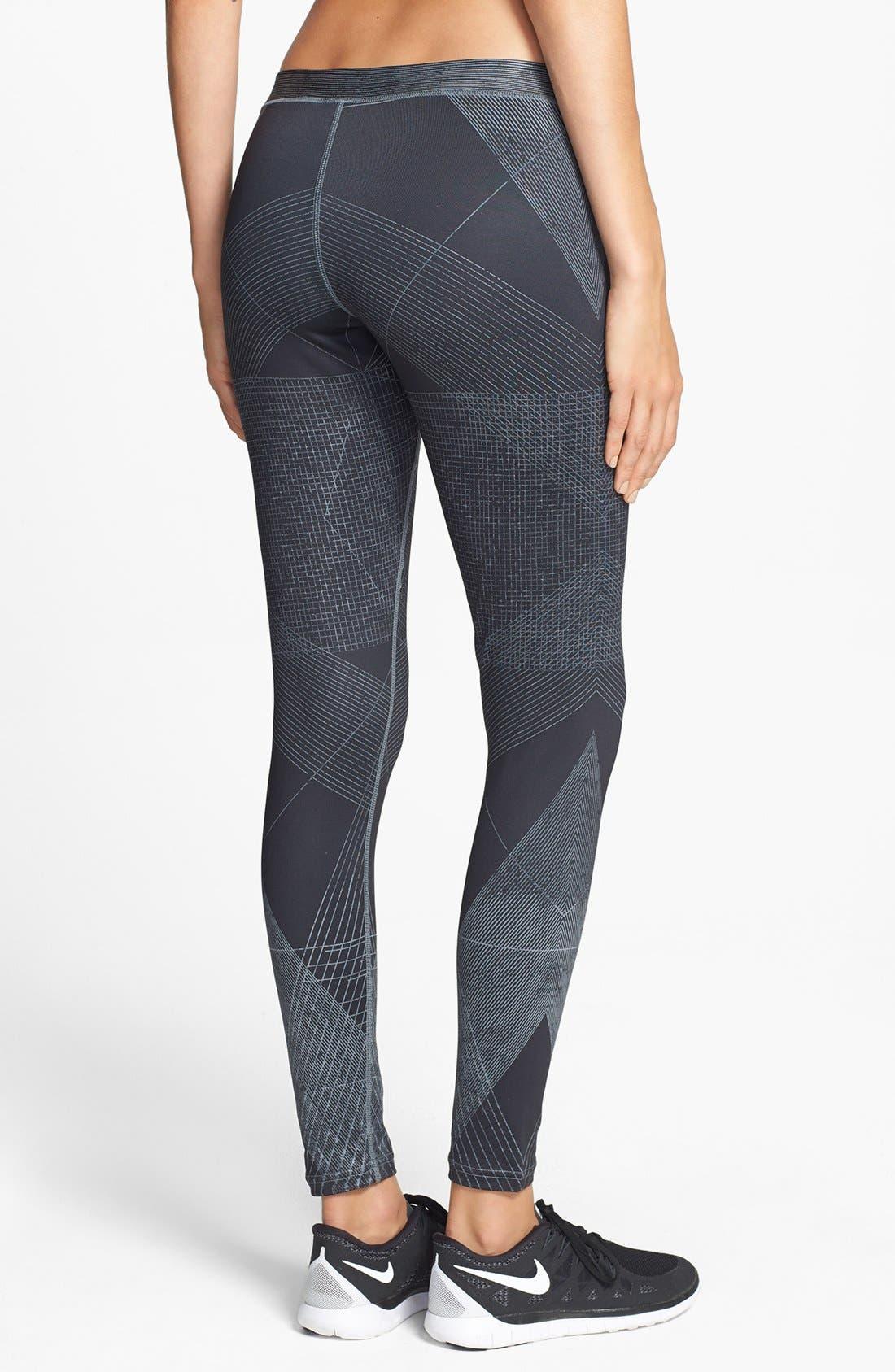 Alternate Image 2  - Nike 'Fast Track' Dri-FIT Print Leggings