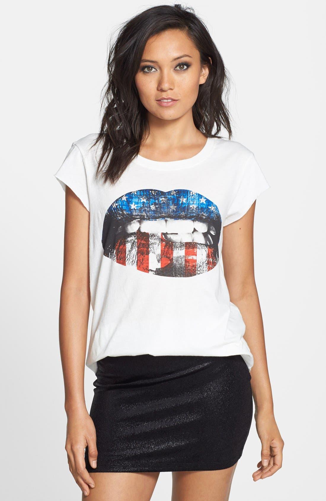 Main Image - Idlewild 'American Woman Lips' Graphic Tee
