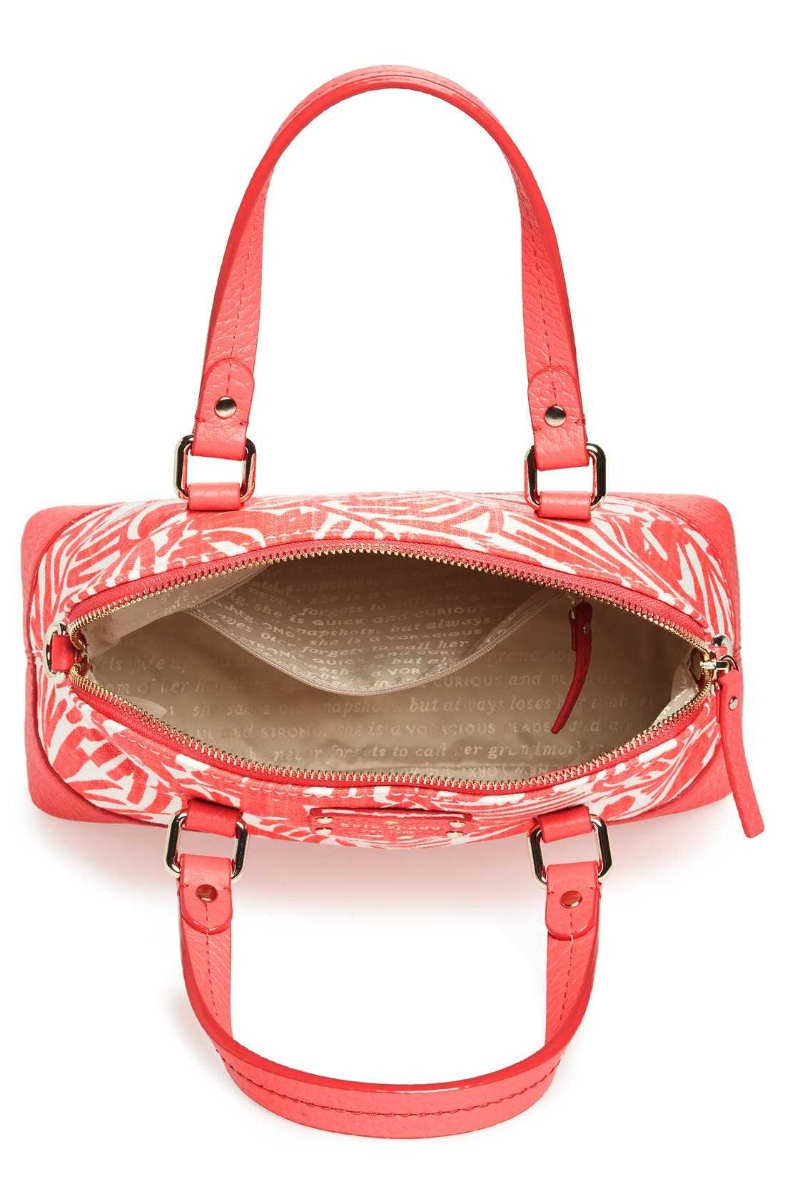 Alternate Image 3  - kate spade new york 'grove court - fabric maise' satchel
