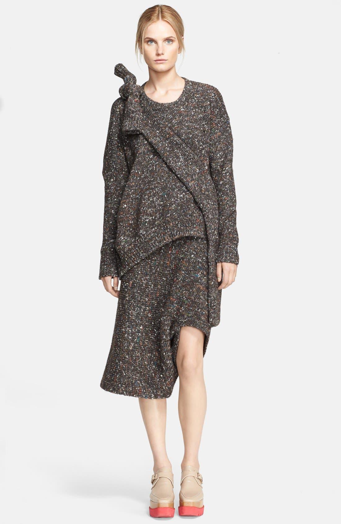 Alternate Image 3  - Stella McCartney Mélange Knit Skirt