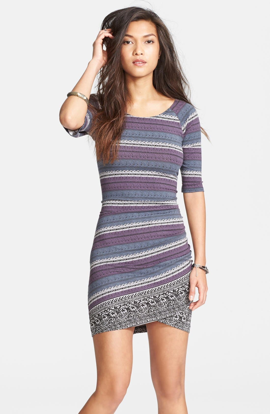 Alternate Image 1 Selected - Free People Print Body-Con Dress
