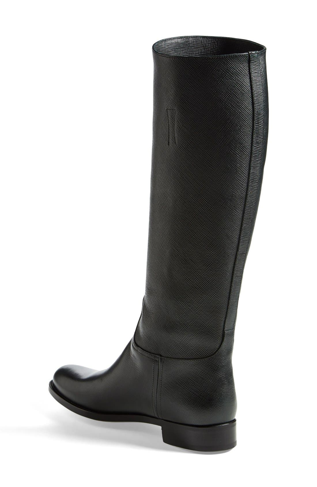 Alternate Image 2  - Prada Riding Boot (Women)