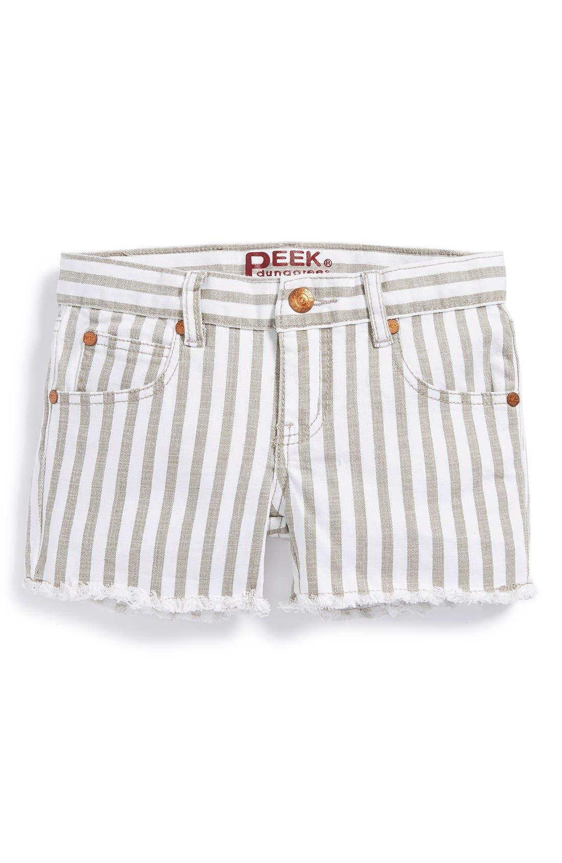 Alternate Image 2  - Peek 'Griffin' Shorts (Toddler Girls, Little Girls & Big Girls)
