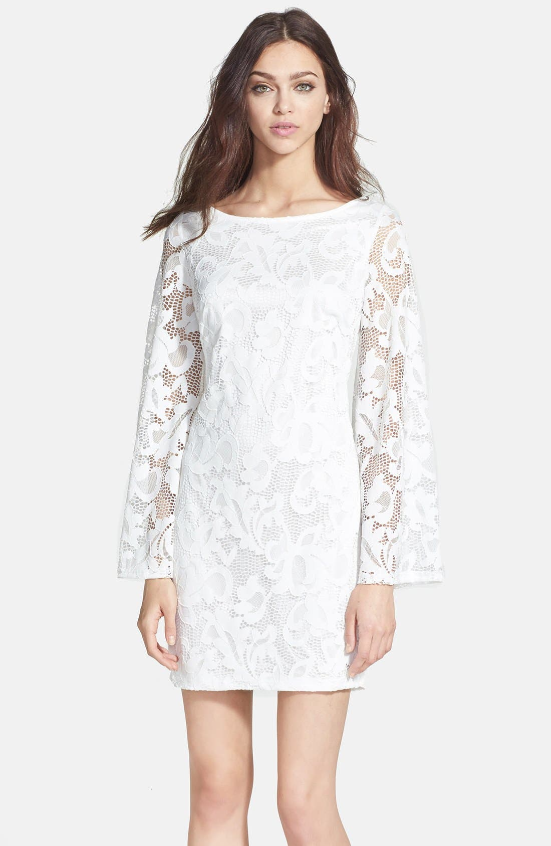 Alternate Image 1 Selected - Alexia Admor Lace Shift Dress