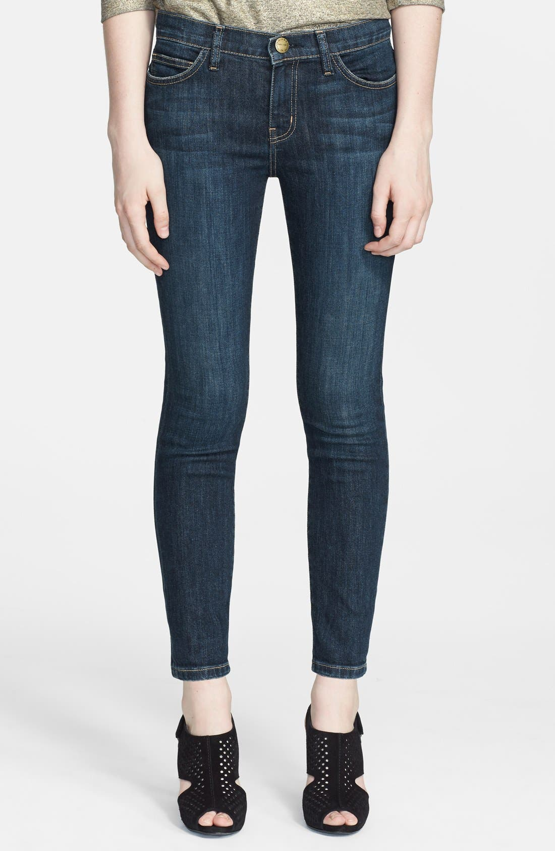Alternate Image 1 Selected - Current/Elliott 'The Stiletto' Skinny Jeans (Alumni)