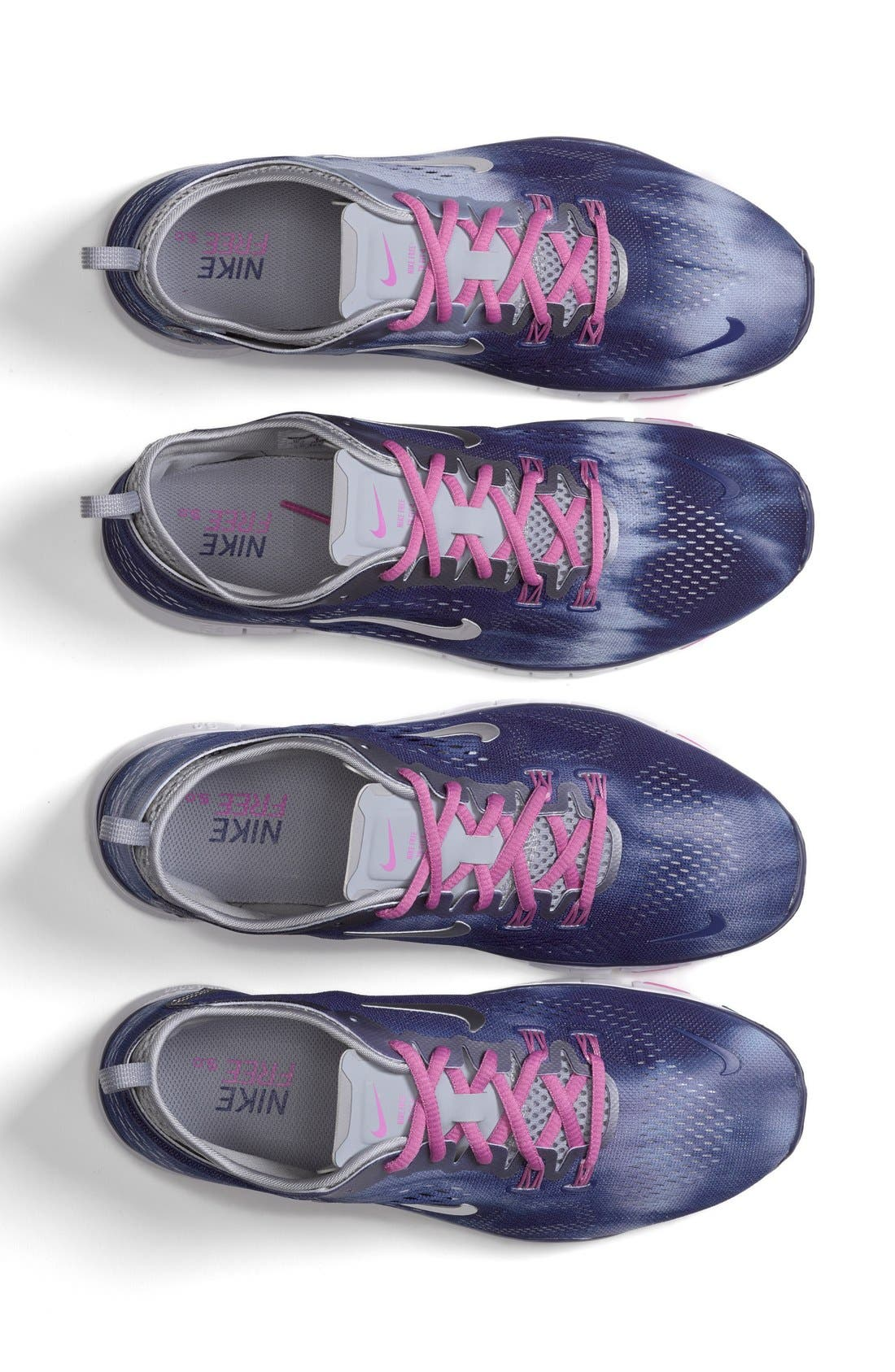 Alternate Image 5  - Nike 'Free 5.0 Fit' Tie Dye Training Shoe (Women)