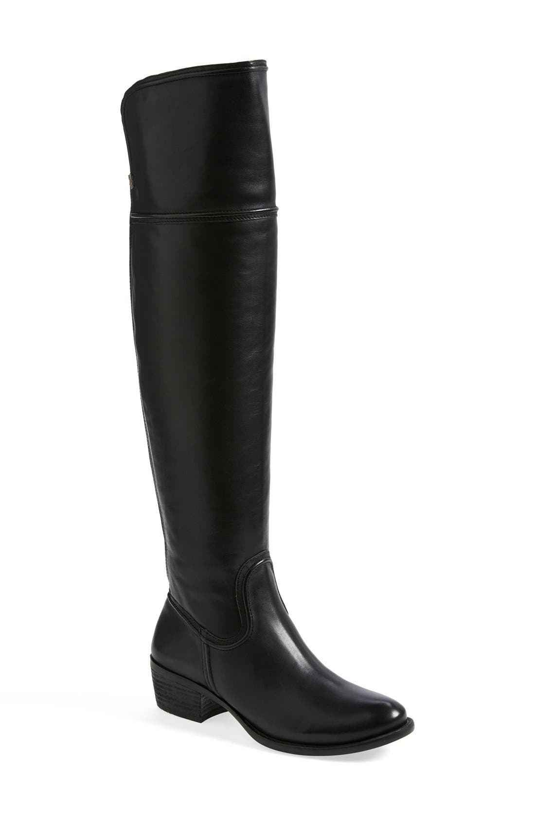 Alternate Image 1 Selected - Vince Camuto 'Baldwin' Over the Knee Leather Boot (Wide Calf) (Nordstrom Exclusive) (Women)