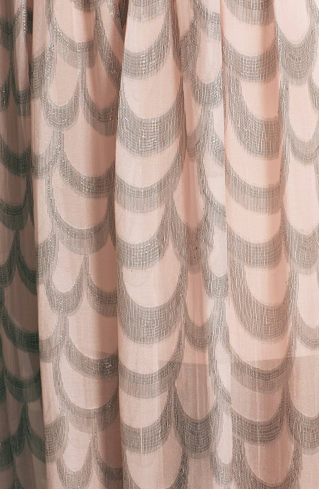 Alternate Image 3  - ERIN erin fetherston 'Chloe' Foiled Chiffon Gown