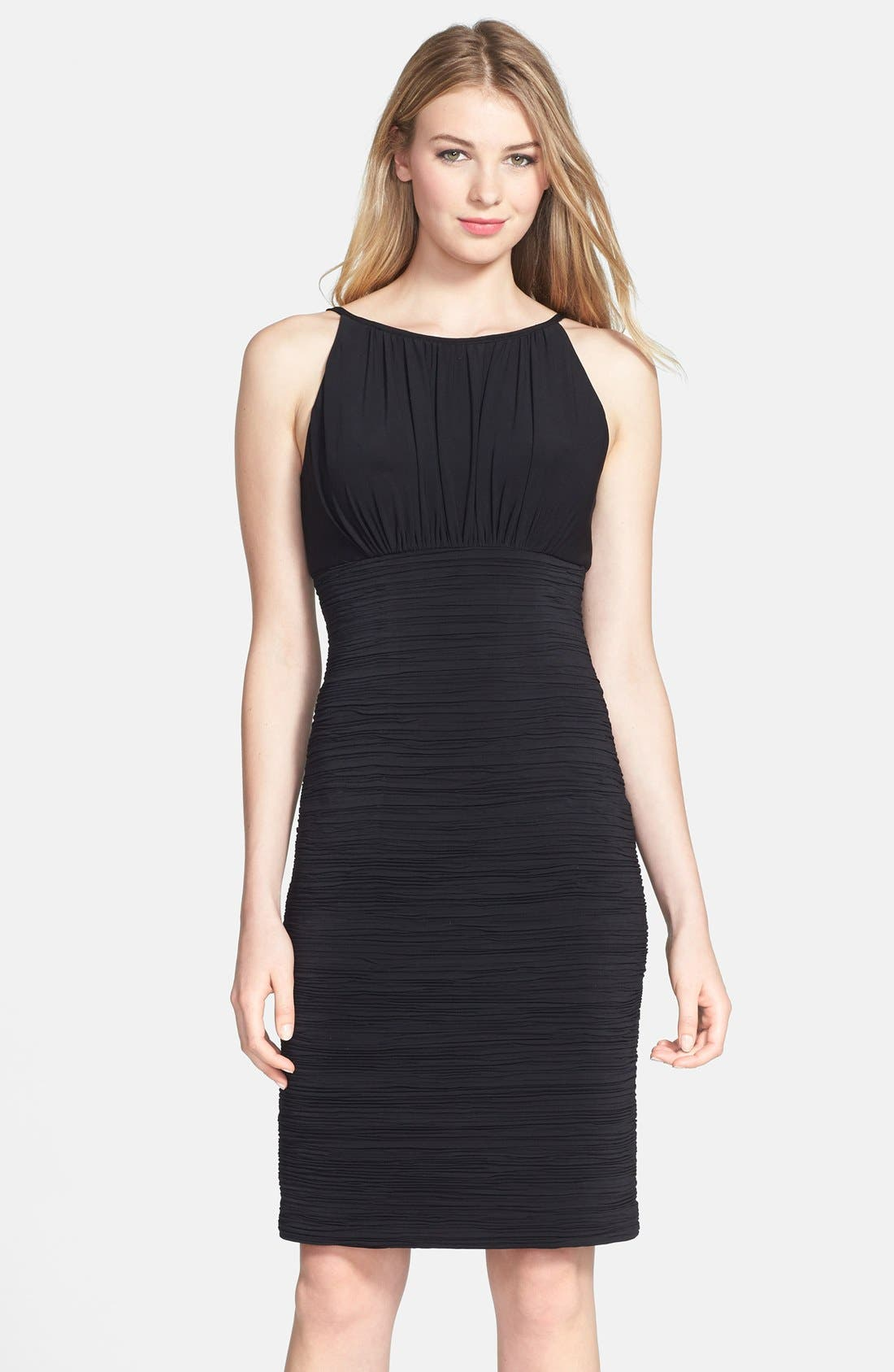 Alternate Image 1 Selected - JS Boutique Ruched Jersey Dress