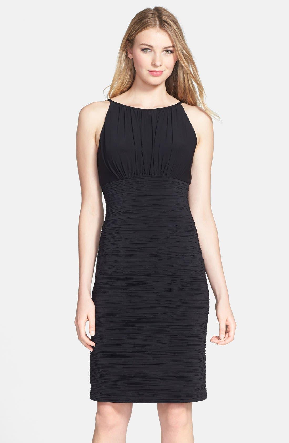 Main Image - JS Boutique Ruched Jersey Dress