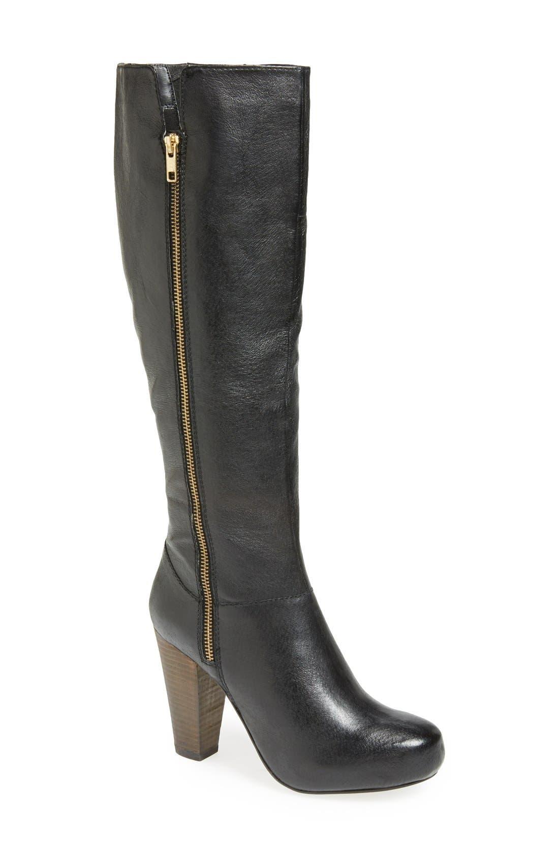 Alternate Image 1 Selected - Steve Madden 'Rikki' Tall Riding Boot (Women)