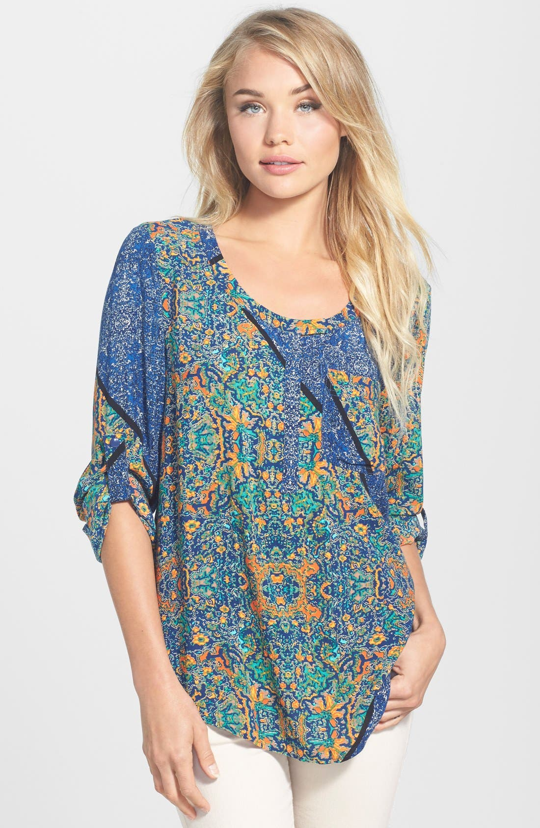 Alternate Image 1 Selected - Plenty by Tracy Reese Medallion Print Tunic
