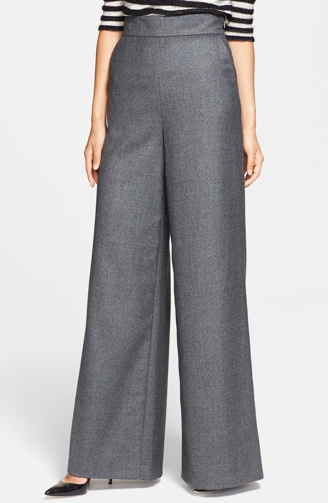 Alternate Image 1 Selected - Rachel Zoe 'Alessia' Wide Leg Trousers