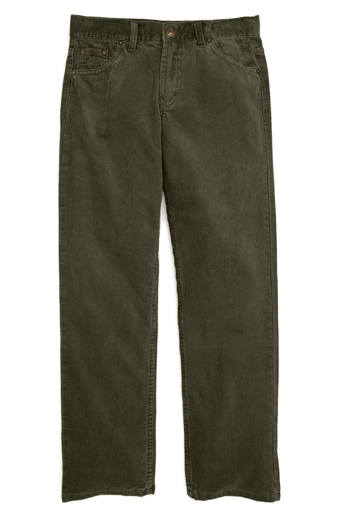 Alternate Image 1 Selected - Oscar de la Renta Corduroy Pants (Toddler Boys, Little Boys & Big Boys)