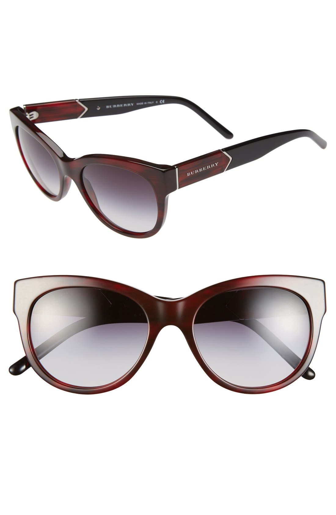 Alternate Image 1 Selected - Burberry 'Phantos' 53mm Sunglasses