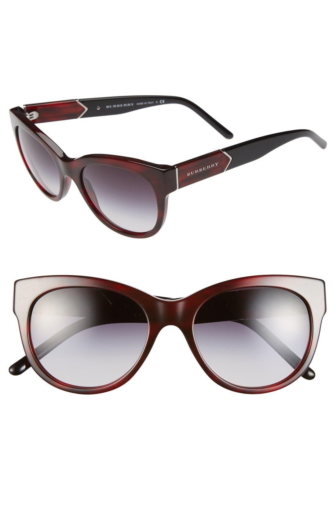 Main Image - Burberry 'Phantos' 53mm Sunglasses