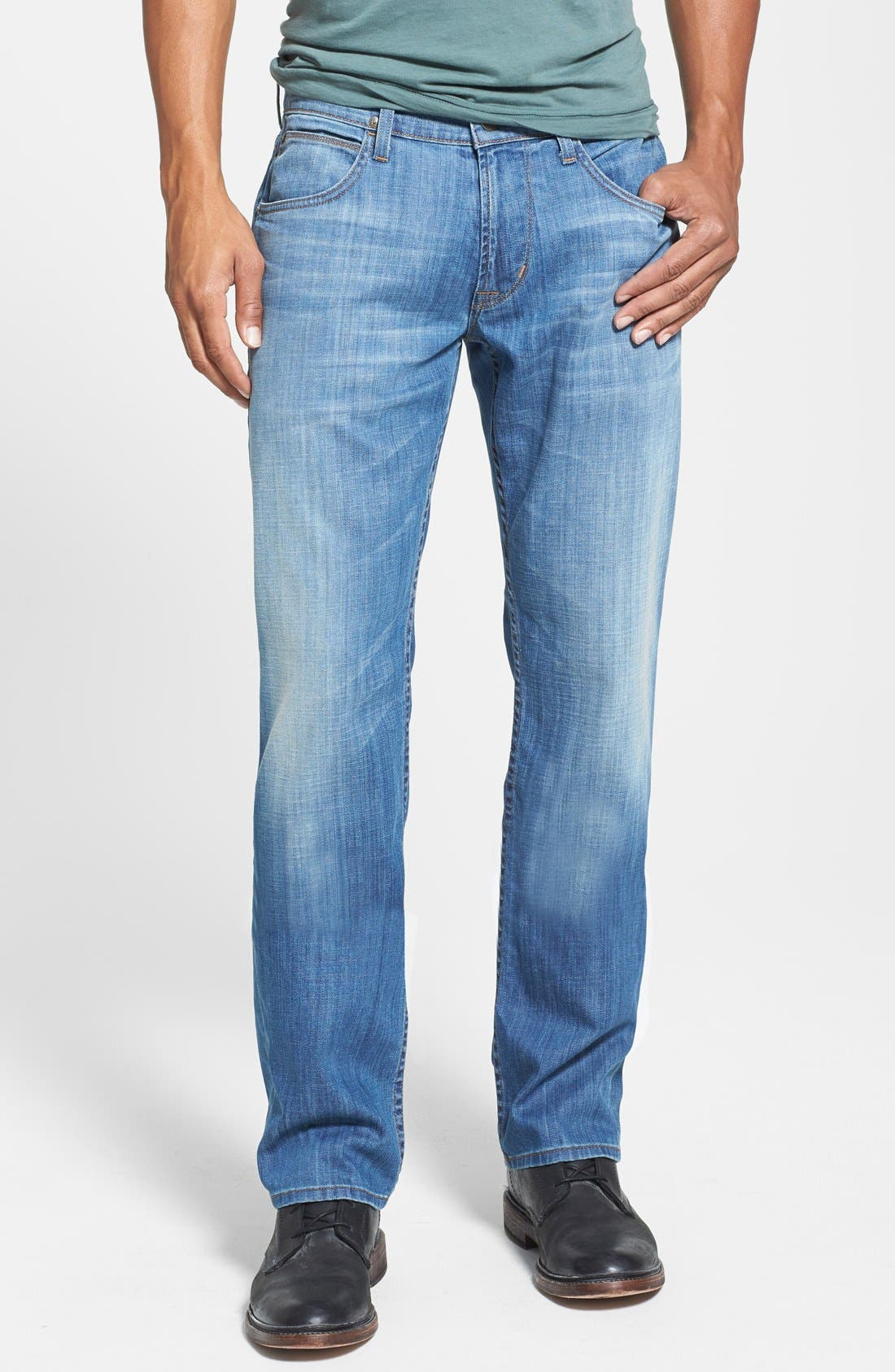 Alternate Image 1 Selected - Hudson Jeans 'Byron' Straight Leg Jeans (Comrade)