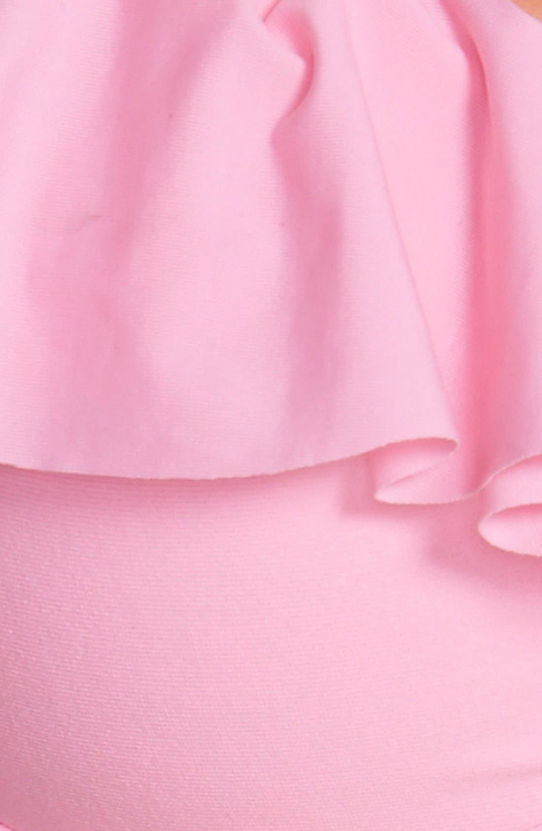 Alternate Image 5  - Maaji 'Bubble Gum Chimera' Ruffle Trim Underwire Bikini Top