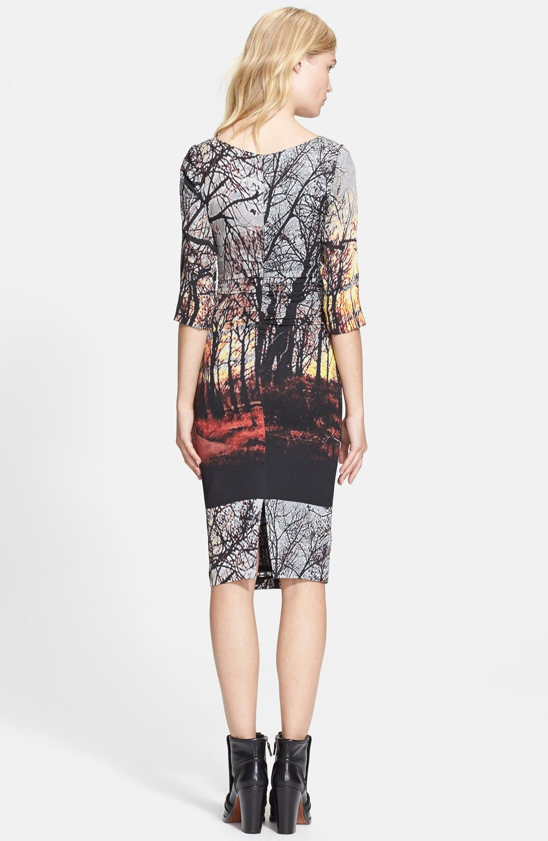 Alternate Image 2  - Tracy Reese Print Stretch Crepe Dress