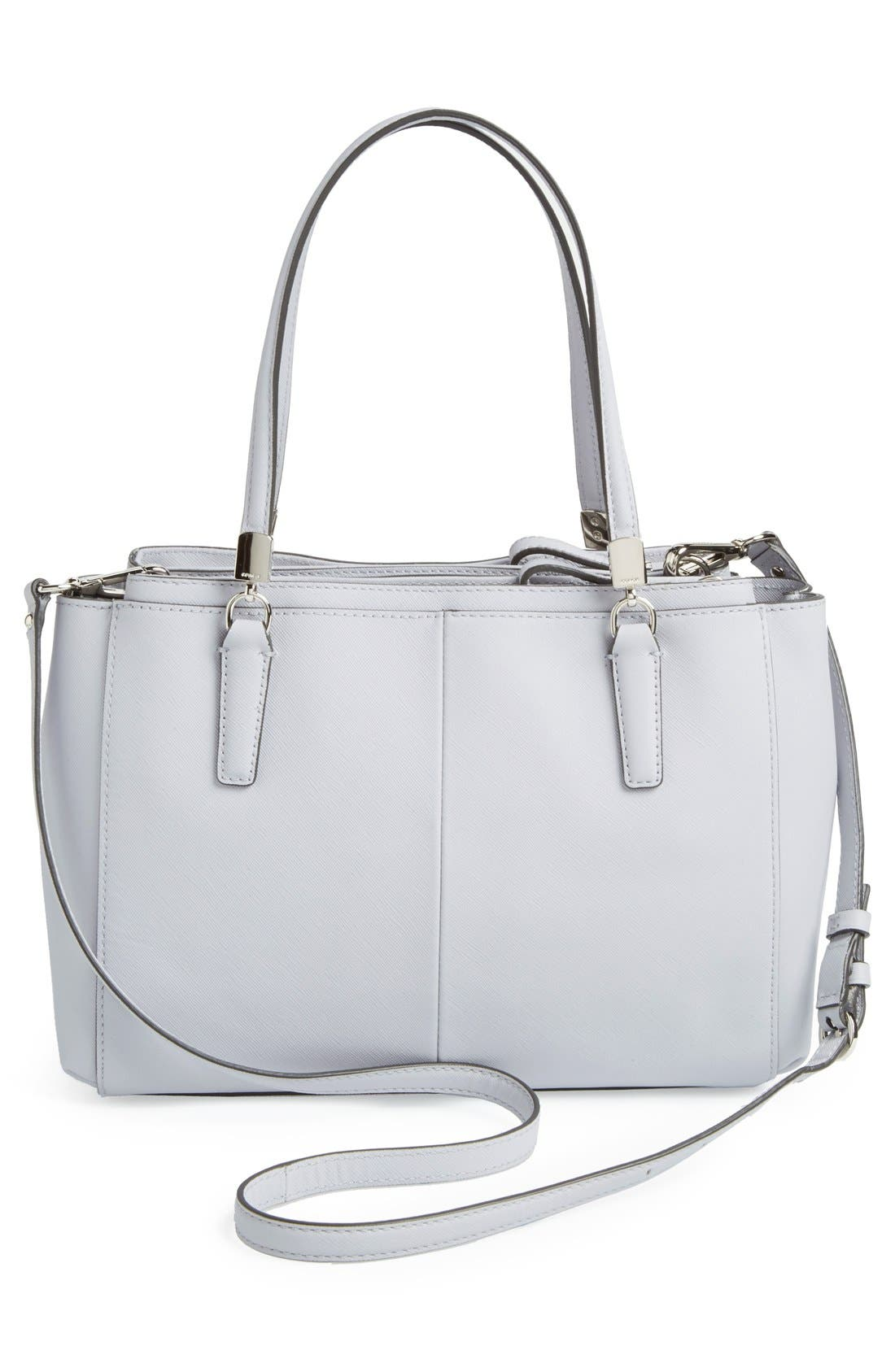 Alternate Image 4  - COACH 'Madison - Small Christie' Saffiano Leather Satchel