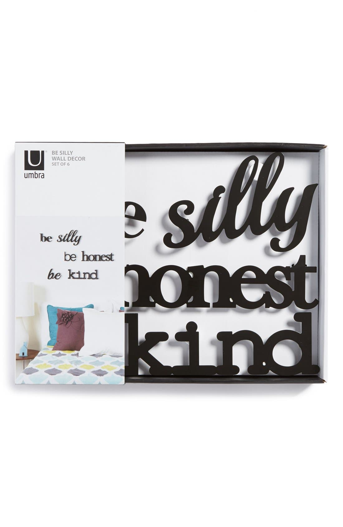 Alternate Image 2  - Umbra 'Be Silly, Be Honest, Be Kind' Wall Art