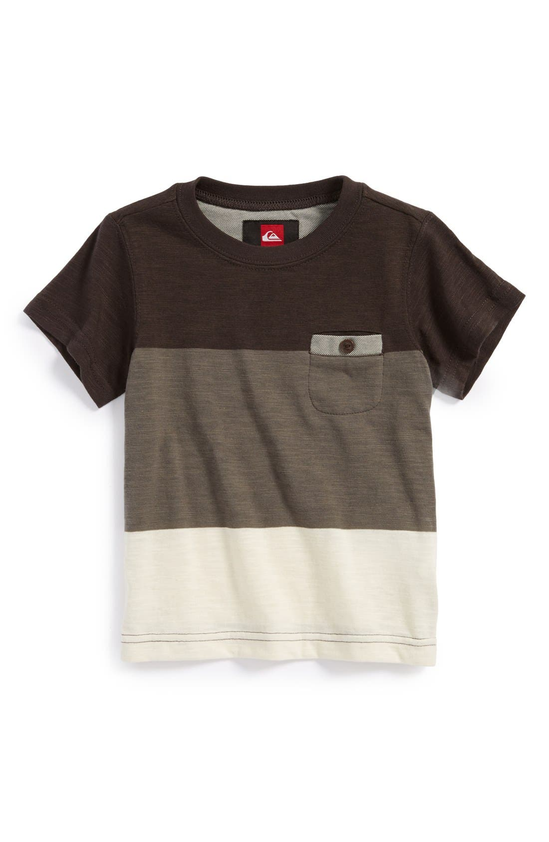 Alternate Image 1 Selected - Quiksilver 'Half Pint' Slub T-Shirt (Toddler Boys)