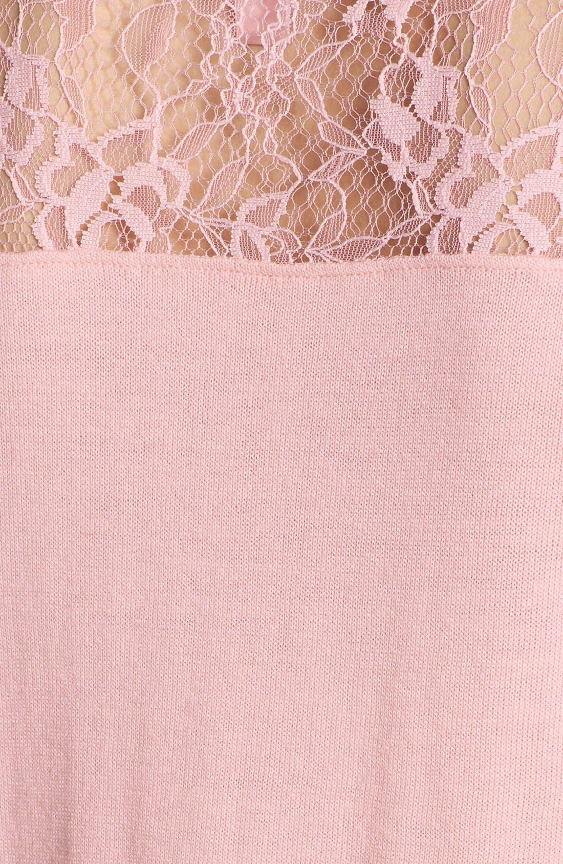 Alternate Image 3  - Chelsea28 Lace Yoke Sweater