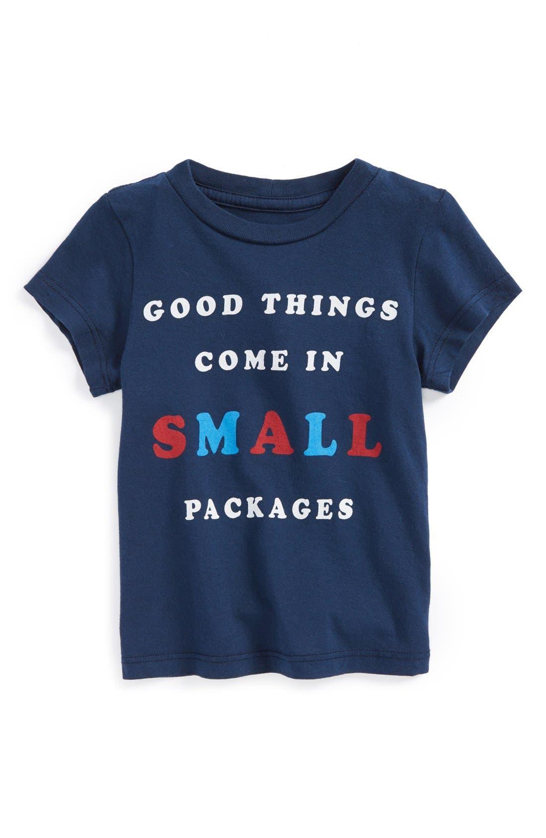 Alternate Image 1 Selected - Peek 'Good Things' Cotton T-Shirt (Baby)