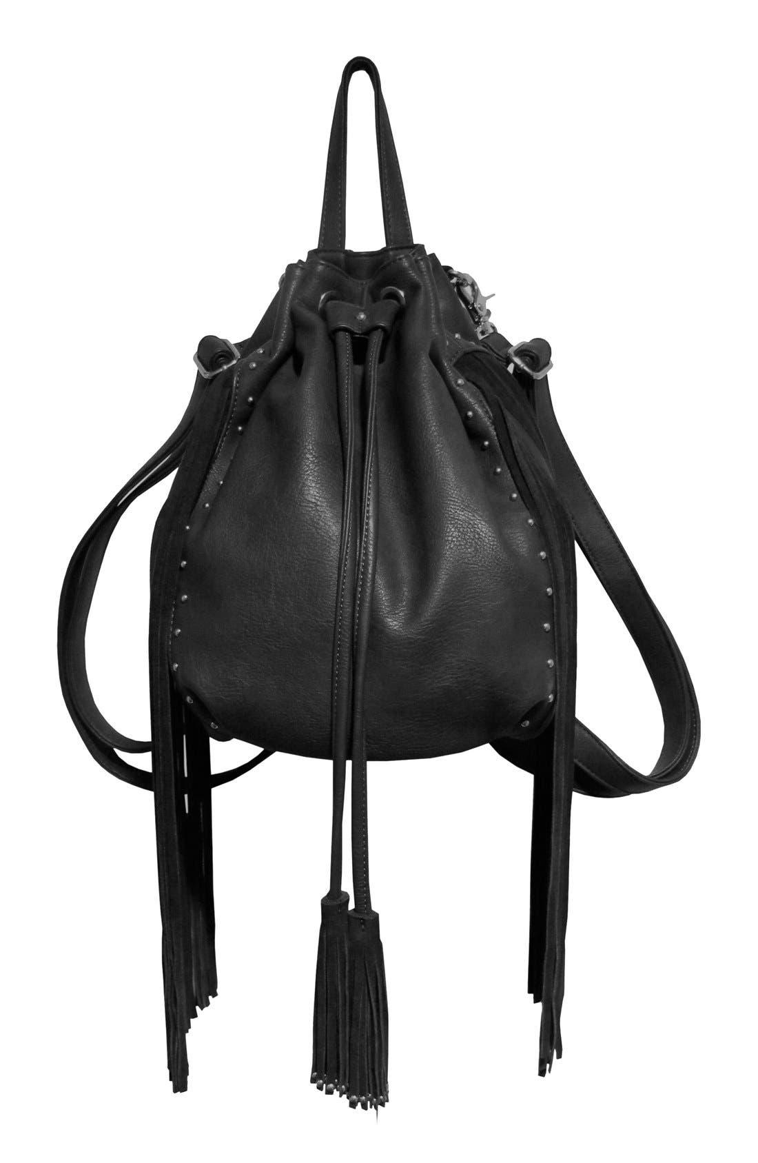 Main Image - Urban Originals 'Forbidden' Convertible Drawstring Backpack