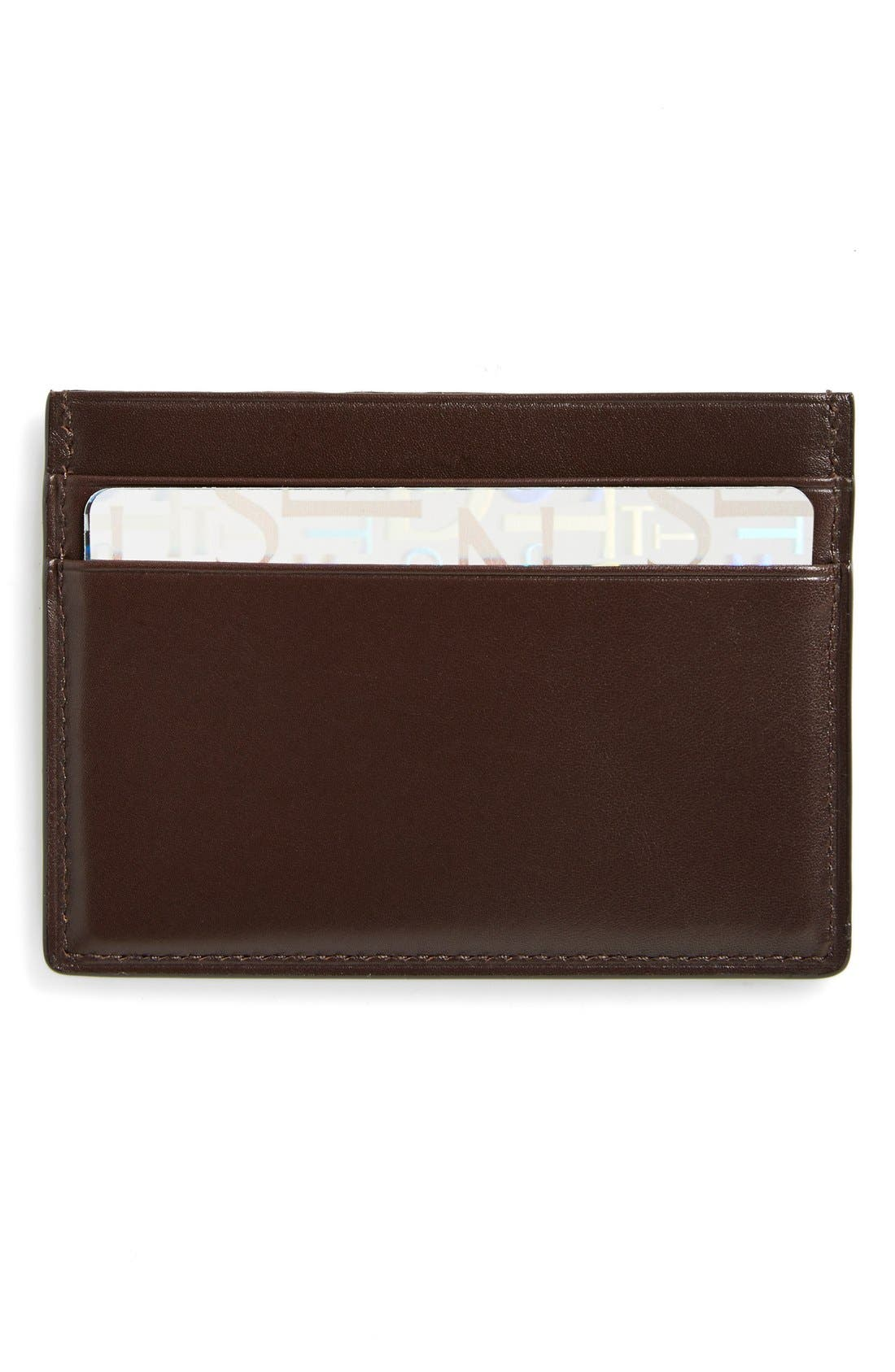 Boconi Crocodile Card Case
