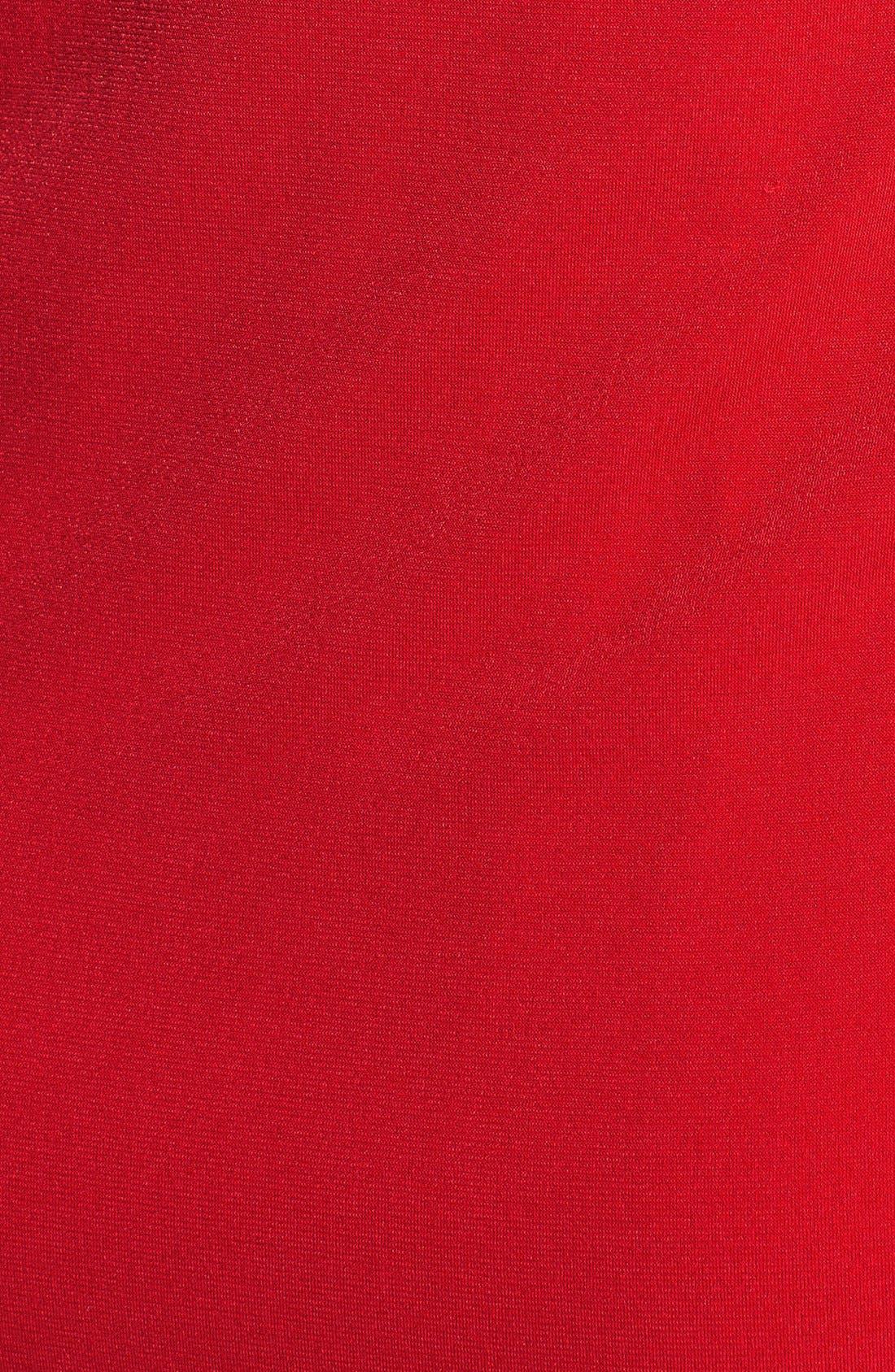 Alternate Image 4  - Donna Ricco Twist Front Jersey Sheath Dress