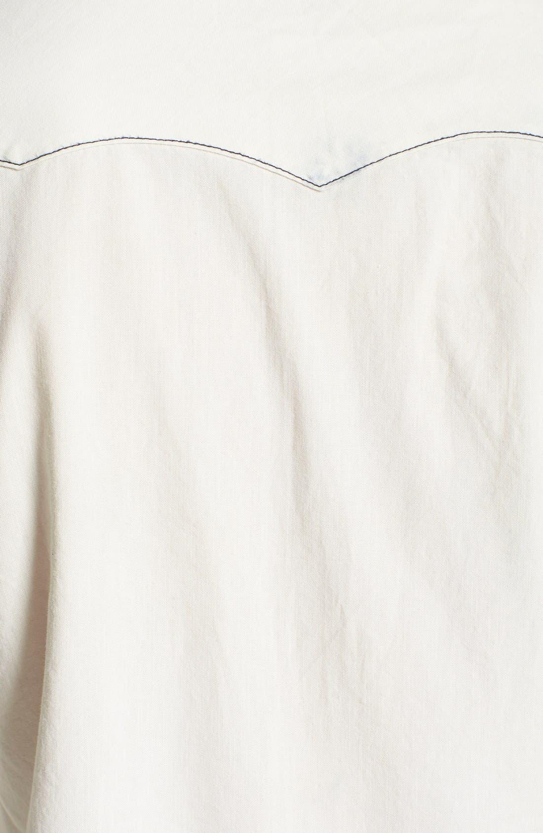 Alternate Image 3  - True Religion Brand Jeans Bleached Western Shirt