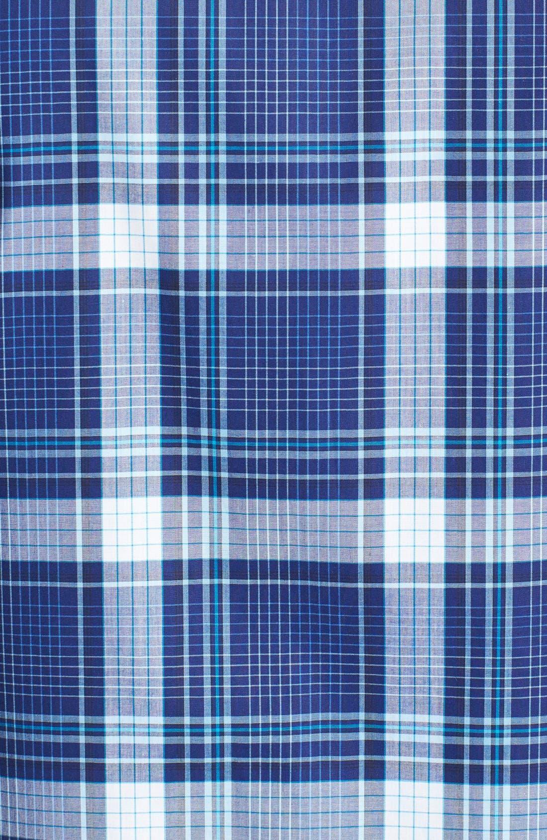 Alternate Image 2  - Robert Graham 'Sandstone' Tailored Fit Cotton Short Sleeve Sport Shirt